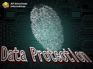 Protección de los datos